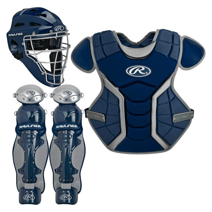 Rawlings Renegade Series Intermediate Catcher's Set Navy: RCSI