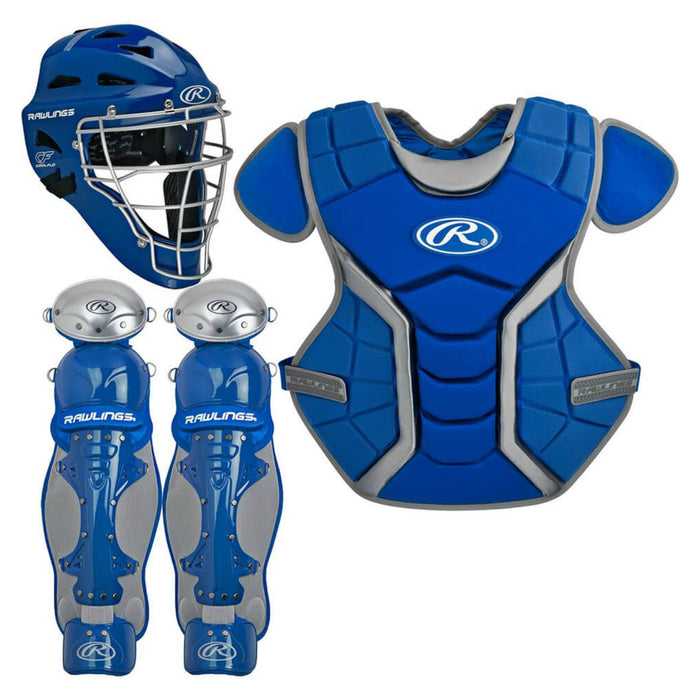Rawlings Renegade Series Youth Catcher's Set Royal: RCSY