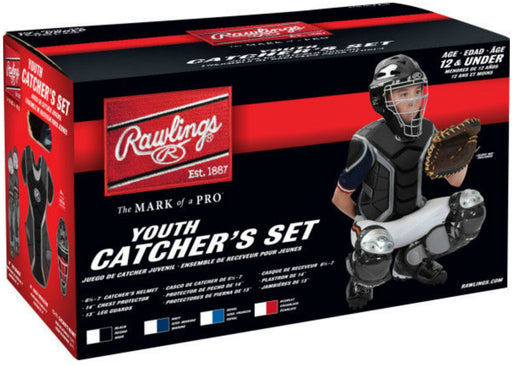 Rawlings Renegade Series Youth Catcher's Set Black: RCSY