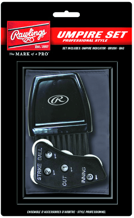 Rawlings Professional Style Umpire Accessories Set