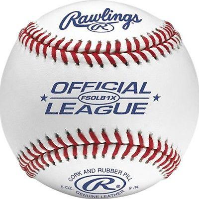 Rawlings Junior League  Practice Flat Seam Ball: FSOLB1X
