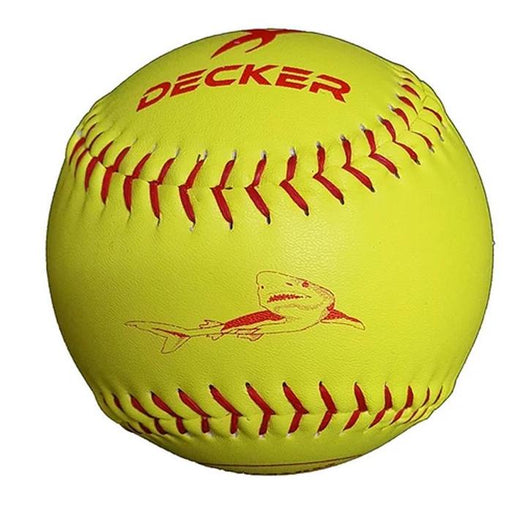 Decker Red Big Shark 12 Inch  Slowpitch Softball 52 300: D12ASAB52