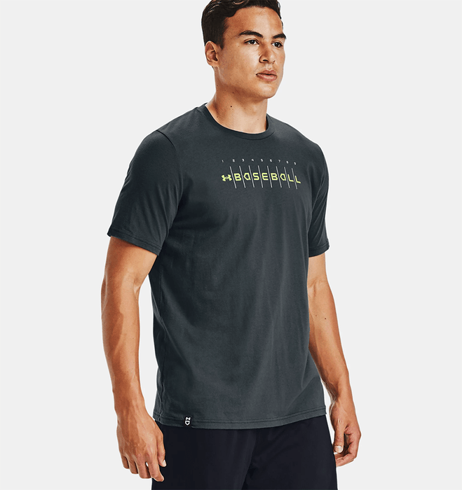 Men's UA Baseball Wordmark Graphic T-Shirt