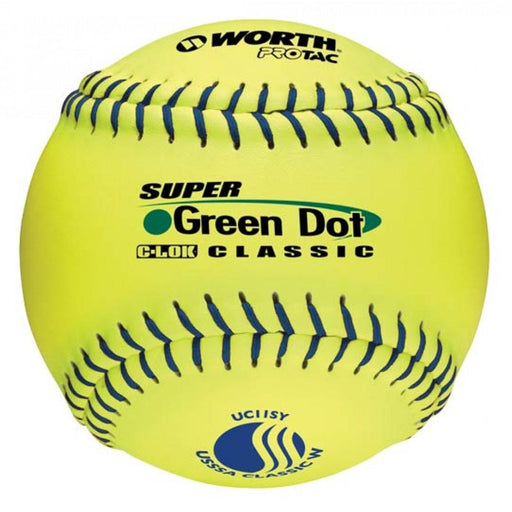 Worth UC11SY  11 Inch USSSA Slowpitch Softball