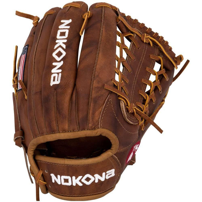 Nokona W-1150 Walnut Series 11 1/2 Inch Baseball Glove: W-1150