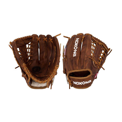 Nokona W-1150 Walnut Series 11.5 Inch Baseball Glove: W-1150