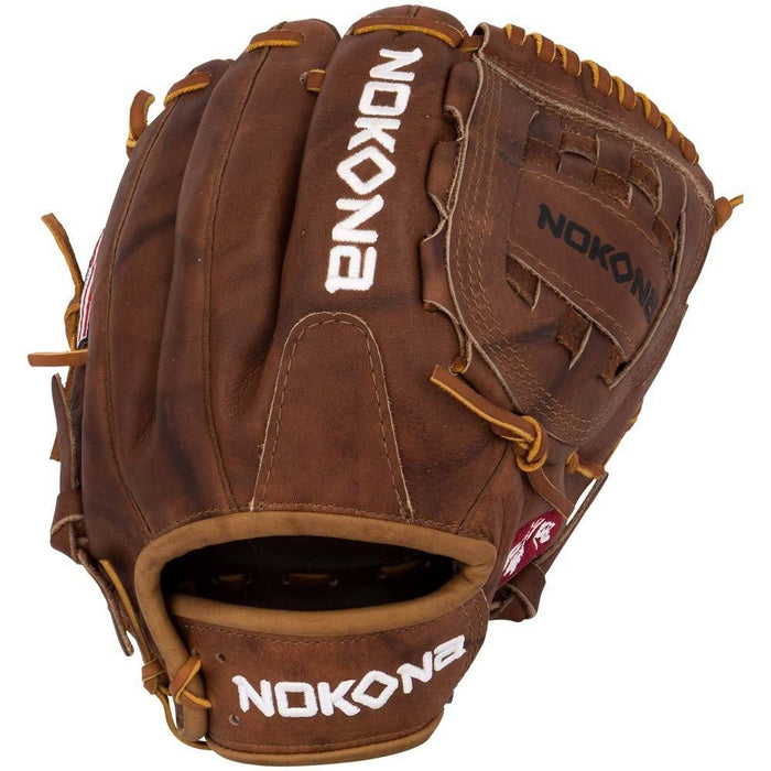 Nokona W 1200 Walnut Series 12 Inch Baseball Glove W 1200