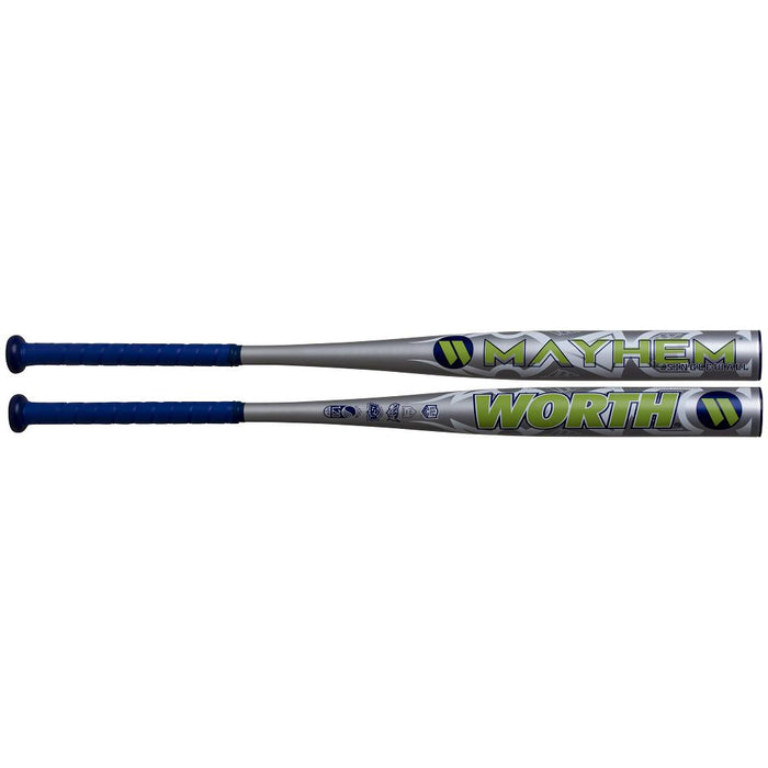 2020 Worth Mayhem XL All Association Slowpitch Softball Bat: WM20AA