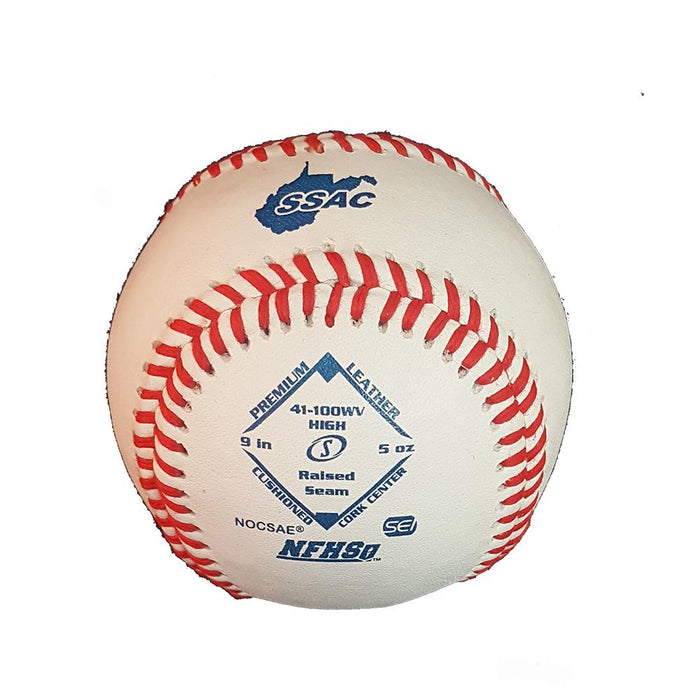 Spalding Official WVSSAC NFHS-NOCSAE Baseball (One Dozen):  WC41100WV