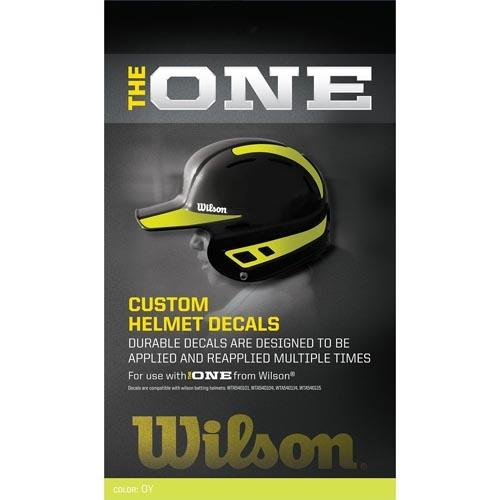 Wilson The One Helmet Decals