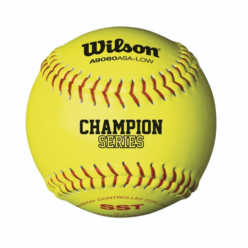 Wilson A9060B ASA Cork Fastpitch Softball 12 Inch