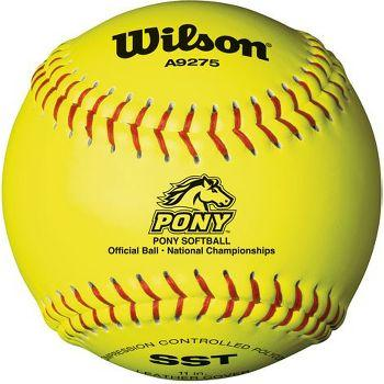 Wilson A9275BSST Pony League Polycore Fastpitch Softball 11 Inch