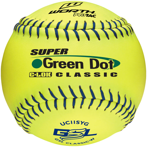 Worth Super Green Dot 11 inch GSL logo: UC11SYG