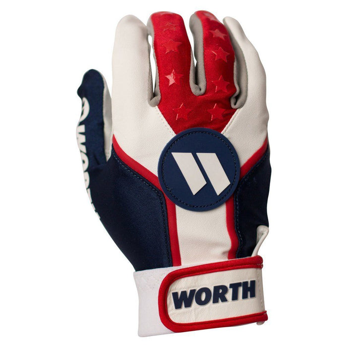 Worth Slowpitch Batting Gloves: WBATGL