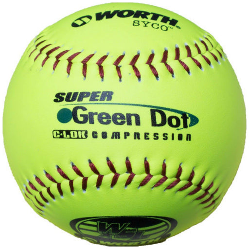 Worth Green Dot 11 Inch WSL Logo SYCO Cover: YS11WSLC