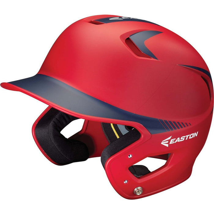 Easton Z5 Grip Two Tone Matte Batting Helmet (Junior) Red/Navy