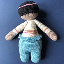 Annie McCuddles - Handmade Crochet Toy Doll