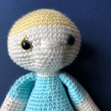 Archie McCuddles - Handmade Crochet Toy Doll