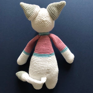 Fergus McCuddles - Handmade Crochet Toy Fox