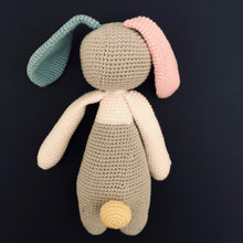 Smokie McCuddles - Handmade Crochet Toy Bunny