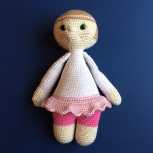 Pixie McCuddles - Handmade Crochet Toy Doll