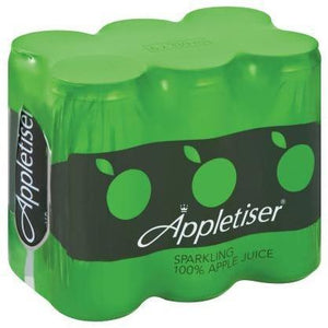 Appletiser 100% Sparkling Juice 330ml x 6 - Buy Groceries Online