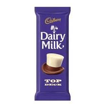 Cadbury Dairy Milk Slab Top Deck 80 g