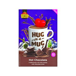House of Coffees Hug in a Mug Hot Chocolate 10's