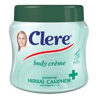 Clere Body Cream Herbal Camphor 500ml - Buy Groceries Online