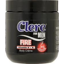 Clere Body Cream for Him Fire 450ml - Buy Groceries Online