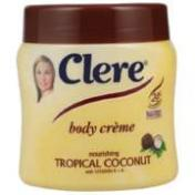 Clere Body Creme Tropical Coconut 300ml - Buy Groceries Online