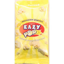 Eazy Pop Microwave Butter Flavoured Popcorn 85g