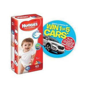 Huggies Disposable Nappies Bulk Size 4+ 44s
