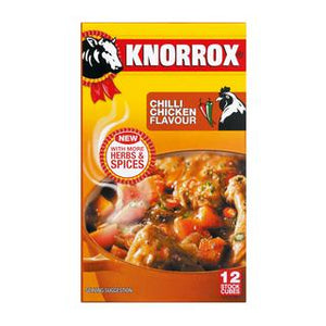 Knorrox Chilli Chicken Cubes 12ea
