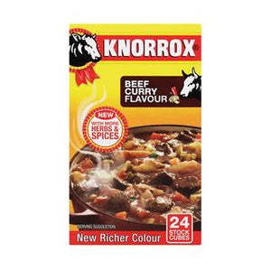 Knorrox Curry Beef Cubes 24ea