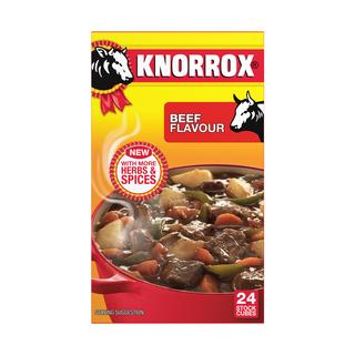Knorrox Stock Cubes Beef 24s