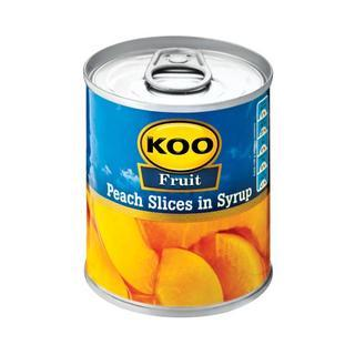 Koo Choice Grade Peach Slices 225 g
