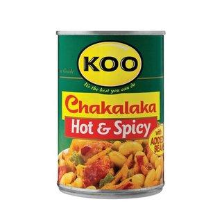 Koo Hot and Spicy Chakalaka 410 g