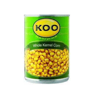 Koo Whole Kernel Sweet Corn in Brine 410 g