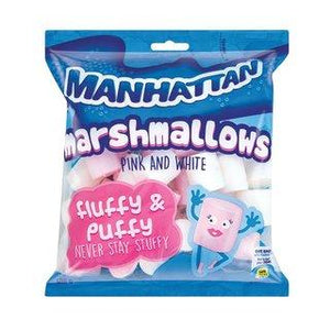 Manhattan Pink & White Mallows 400g - Buy Groceries Online