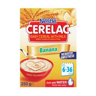 Nestle Cerelac Infant Cereal Banana 250g - Buy Groceries Online