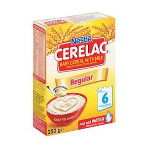 Nestle Cerelac Infant Cereal Regular 250g - Buy Groceries Online