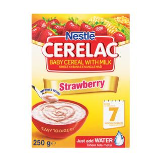 Nestle Cerelac Infant Cereal Strawberry 250g - Buy Groceries Online
