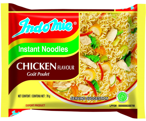 Indomie noodles chicken