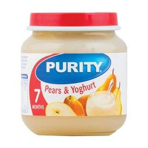 Purity 2nd Food Pears & Yoghurt 125ml - Buy Groceries Online