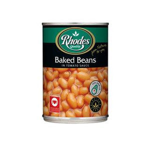 Rhodes Baked Beans In Tomato Sauce 410g - Buy Groceries Online