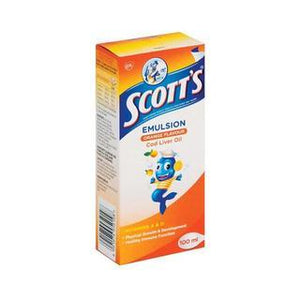 Scott's Orange Vitamin & Minerals Supplement 100ml - Buy Groceries Online