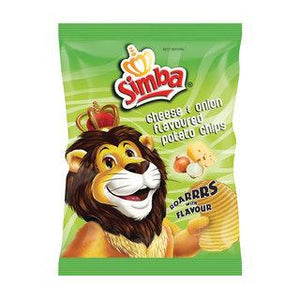 Simba Cheese & Onion Chips 125g - Buy Groceries Online