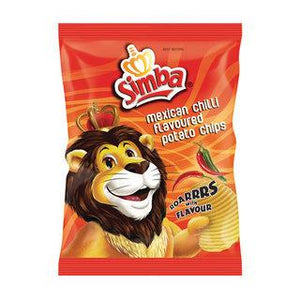 Simba Mexican Chilli Chips 125g - Buy Groceries Online
