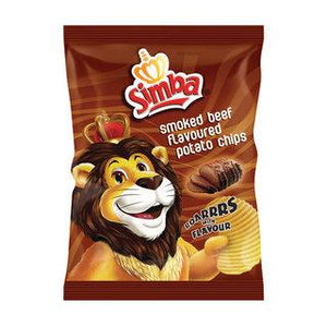 Simba Chips Smoked Beef 36g - Buy Groceries Online